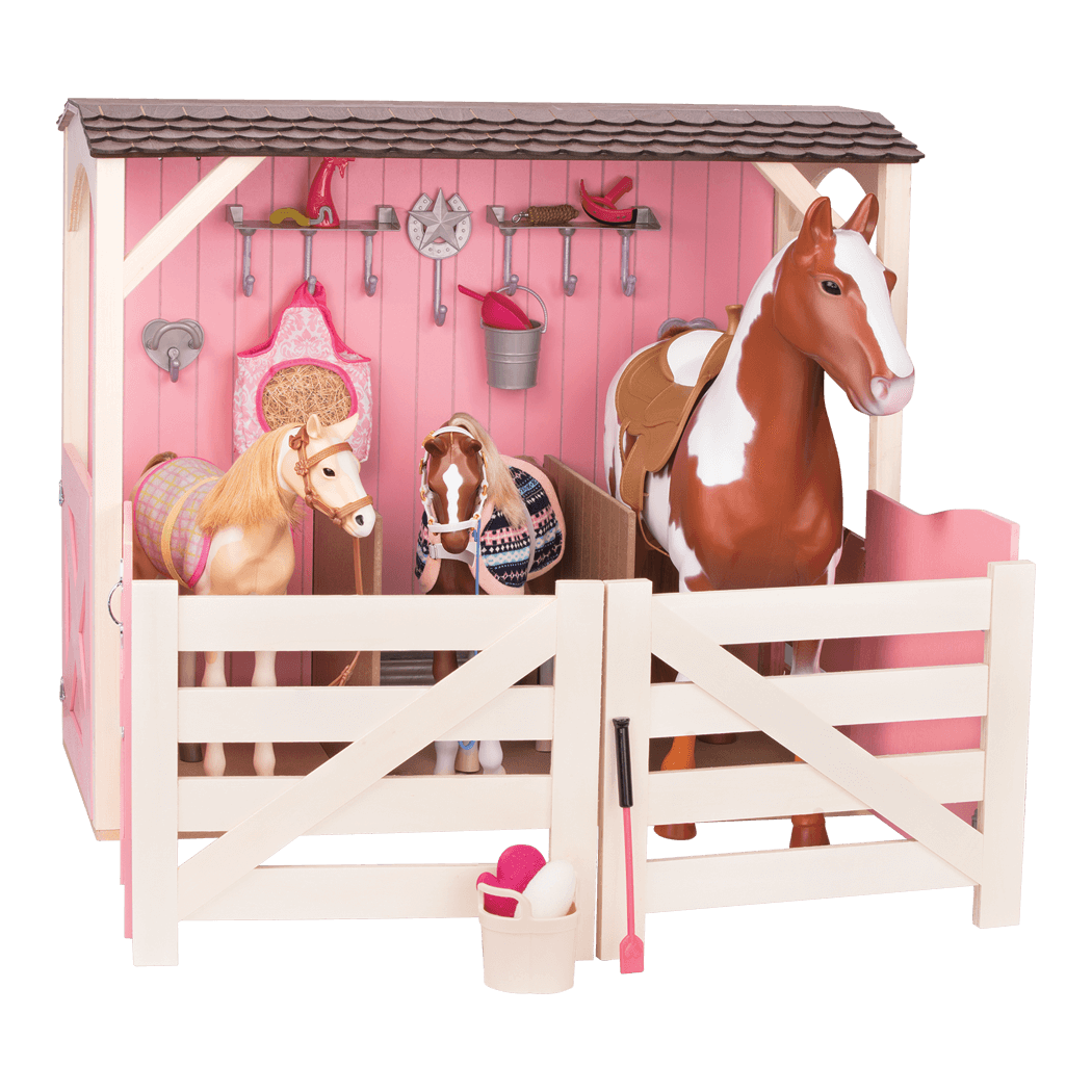 our generation horse stable and accessories